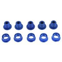 JooFn Chainring Bolt/Nuts Single Speed Short Chain Ring Bolts Kit for Road Bike  Mountain Bike  BMX  MTB(Aluminum Alloy  Blue) - B0787NF5RQ