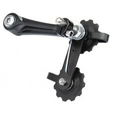 CyclingDeal MTB Road Bike Bicycle Aluminum Chain Tensioner Black - B01MRJ97VT