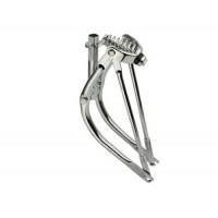 """16"""" Bent Spring Fork 1"""" Chrome. Bike fork  bicycle fork  lowrider bike fork lowrider bicycle fork - B00GHXUGFI"""