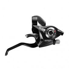 Shimano Acera/Altus ST-EF51 Shifter/Brake Lever - Left  V-Brake  4-Finger  Black - B003ZMFNZ2
