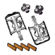 Eltin EP5102 MTB Bike Pedals Cleats Compatible SPD MIXTO - B07BHCHGTW