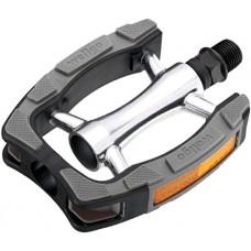 """Wellgo C098 BMX Pedals 9/16"""" Black/Gray BMX / Mountain Platform Pedals - B00ZNCE5EW"""