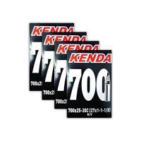 Kenda. 700x25-30c Road Bike Inner Tubes - FOUR (4) PACK - B075KLPDLR