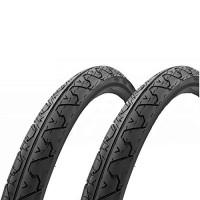 "Kenda City Slick Mountain Tire K838 Black 26x1.95"" Pair - B00RDDRVHW"