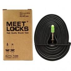 MEETLOCKS Bike Tube MTB 26x1.75-2.125 Recycle Butyl Solid Brass Stem Valve Presta 2 Pcs Pack 4 Pcs Pack For Choice - B0744GXWRH