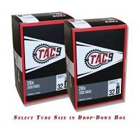 "TAC-9 Bike Tubes  26"" Standard Schrader Valve - Select Your Size - B06ZYP2RC3"