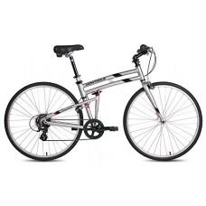 "New Montague Crosstown Folding 700c Pavement Hybrid Bike Boulder Gray 17"" - B018WLRAQU"