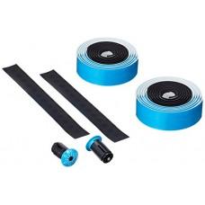 Supacaz Super Sticky Kush Bar Tape - Neon Blue / Black - B00EREX976