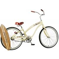 "Anti-Rust Aluminum frame  Fito Modena II Alloy Single 1-speed - Vanilla  women's 26"" Beach Cruiser Bike Bicycle - B01IAI201A"