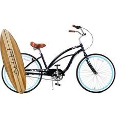 "Anti-Rust Light Weight Aluminum Alloy Frame Fito Marina alloy Shimano Nexus 3 speed 26"" wheel womens beach cruiser bike bicycle Midnight Blue - B0173WC71M"