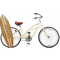 "Fito Anti Rust Light Weight Aluminum Alloy Frame  Marina Alloy 1-speed for women - Vanilla  26"" wheel Beach Cruiser Bike Bicycle - B018H9D0RK"