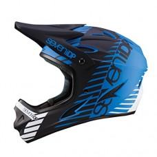 7iDP M1 Full Face Mountain Bike BMX Helmet Tactic Matt Blue/Black/White M (56-58CM) - B075TBTGD1