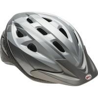 Bell Adult Silver Ti Fang Rig Helmet - B00TS3FWPI