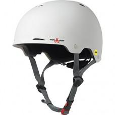 Triple Eight Gotham Helmet MIPS  White Matte  S/M - B00VQ8Q63K